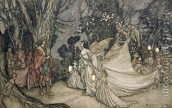 sogno_The-Meeting-Of-Oberon-And-Titania,-1905